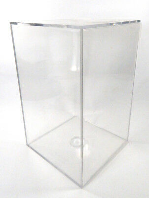 "Used Clear Football Display Case 11 1/2"" x 7 1/4"""