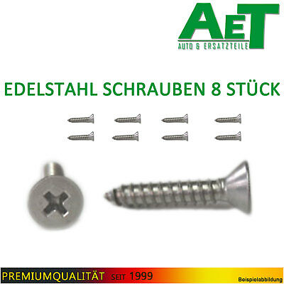 Stainless Steel Screw schwellerauflage Door Sill Protection Mounting Lada Niva