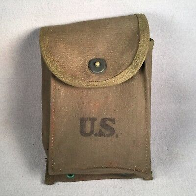 US Army M2 Carbine Ammo Mag Pouch 1949 JQMD XLNT