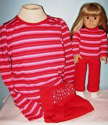 American Girl Size and Girl's Matching Outfits Choice of Size 7/8 or 10/12