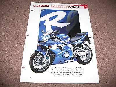 YAMAHA YZF-R6 (5EB) the complete file from essential superbikes