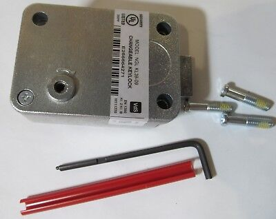 New Ig Intergard Nl Ngl Kl-3909 Kl3909 Changeable Safe/ Atm Key Lock Vds En1300