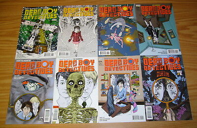 Dead Boy Detectives #1-12 VF/NM complete series - neil gaiman's sandman spin-off