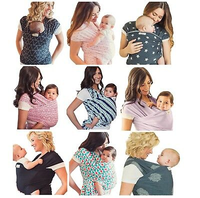 de6aa15e9be SEVEN SLING ADJUSTABLE BABY INFANT WRAP CARRIER MULTIPLE WAYS 8-35 Lb NEW  IN BOX