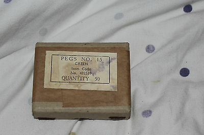 GPO  EXCHANGE    PEGS No 15 GREEN