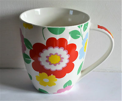 Large Cath Kidston Mug Circus Flowers by Queens Kitchen Discontinued