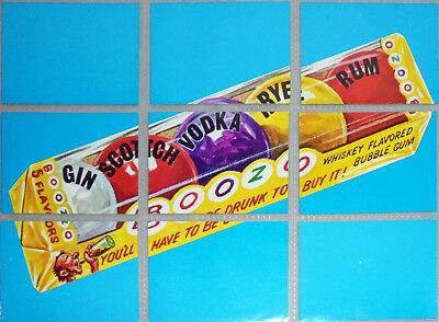 -Rare- 1974 -Wacky Packages- 7th Series/Series 7 Topps Checklist/Puzzle Card Set
