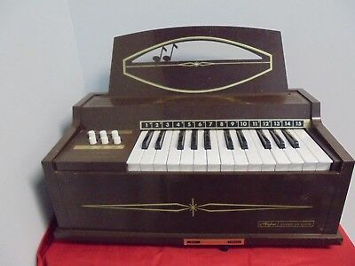 Vintage MAGNUS Electric Chord Organ Super De Luxe All Working Instrument