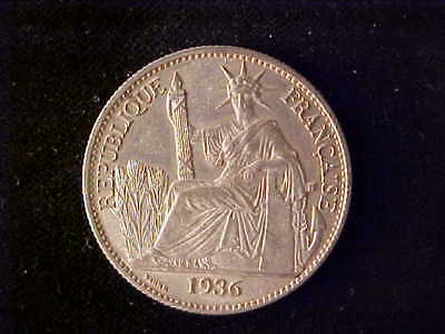 French Indo China 50 Centimes 1936 Bu***no Reserve