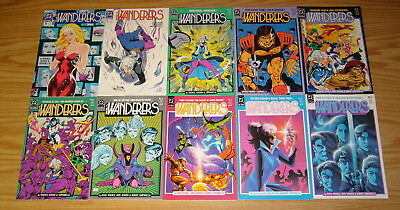 Wanderers #1-13 VF/NM complete series legion of super-heroes spin-off set lot dc