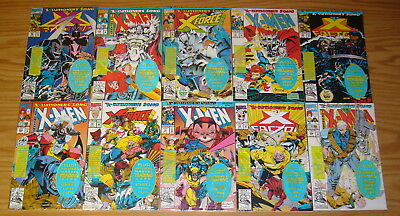 X-Men: X-Cutioner's Song #1-12 VF/NM complete story + addendum - in bags w/cards