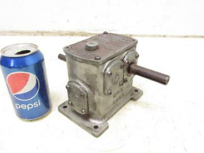 Eberhardt Denver 13L-DB Gear Box Transmission Speed Reducer Gearbox 450:1 Ratio