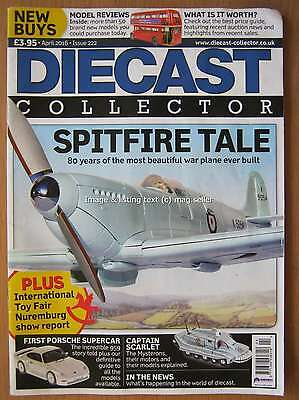 Diecast Collector magazine x 3 issues April August & September 2016 Oxford Corgi