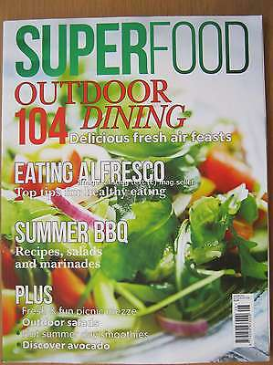 Superfood magazine July August 2016 Outdoor Dining Summer Barbecue Salad Avocado