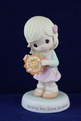 Precious Moments - Girl w Sun Figurine - Sending You Some Sunshine  103025