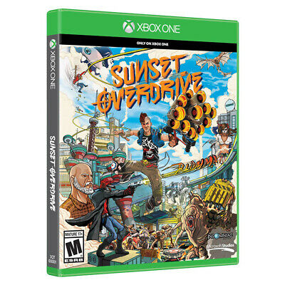 Sunset Overdrive - Xbox One NEW AND SEALED