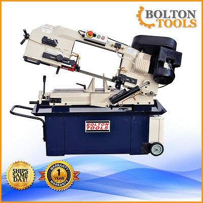 "9"" x 12"" Inch 1.5 HP Band Saw Horizontal Metal Cutting Bandsaw BS-912B Free Ship"