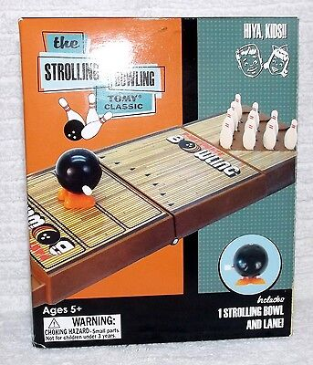 NEW 2009 The Strolling Bowling Tomy Classic Wind Up Bowling Game - Bazoo Global