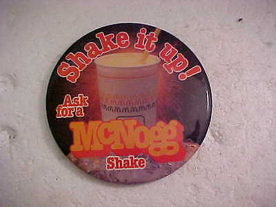 McDONALDS TOSSED FRESH ALL DAY  PINBACK BUTTON