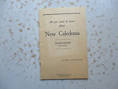 All You Need To Know About New Caledonia - 1942 Australia Booklet for US Troops