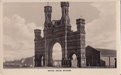 Royal Arch DUNDEE Scotland 1914 Davidson's Real Photo Postcard