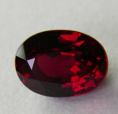 3.05ct!! NATURAL RUBY EXPERTLY FACETED IN GERMANY +GIA CERTIFICATE INCLUDED