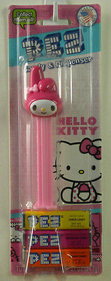 PEZ MY MELODY Candy Dispenser New On Hello Kitty Card