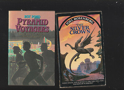 Joel Rosenberg:Guardians of the Flame 3 The Silver Crown/Roy Pond:Pyramid Voyage