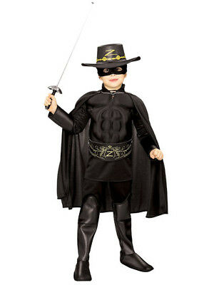 Zorro Muscle Chest Deluxe Costume