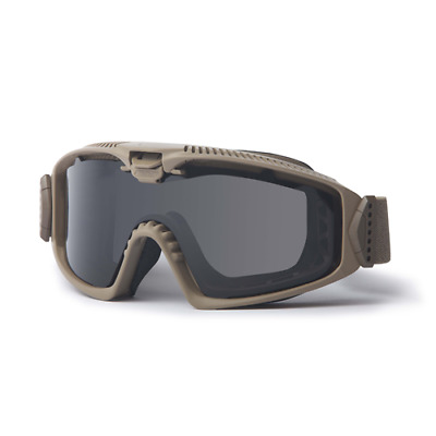 ESS EE7018-02 ESS-Terrain Tan Influx AVS Goggle w/Clear&Smoke Lenses