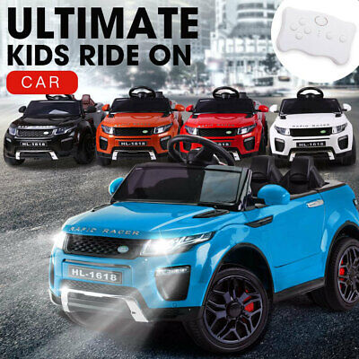 ROVO KIDS Ride-On Car RANGE ROVER EVOQUE Inspired Electric Toy Battery 12V