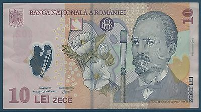 ROMANIA - 10 LEI - 2008 - TICKET FROM BANK Quality: TTB