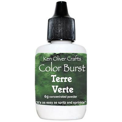 Ken Oliver Color Burst Powder - TERRE VERTE - Green