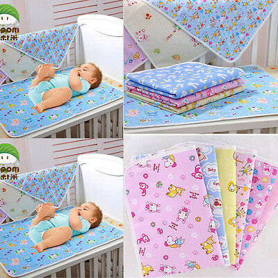 Baby Cotton Printed Infant Diaper Nappy Urine Mat Waterproof Bed Changing Cover