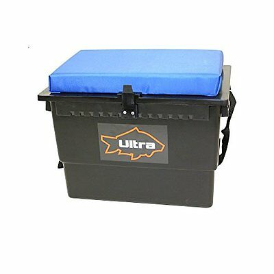 Ultra Fishing Tackle Cushioned Seat Box