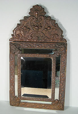 Mirror Has Glazing Style Louis Xiv Copper Regrowth / Mirror Louis Xiv