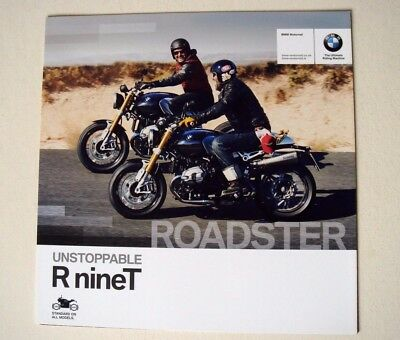 BMW . R nineT . Roadster . 2014 Sales Brochure