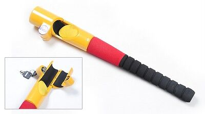 Baseball bat style car steering wheel security lock van VISUAL DETERRENT secure