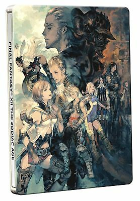 Final Fantasy XII The Zodiac Age Steelbook Edition PS4