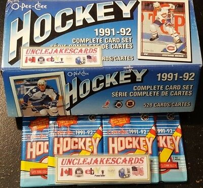 1991-92 OPC TORONTO MAPLE LEAFS Select from LIST HOCKEY CARDS O-PEE-CHEE