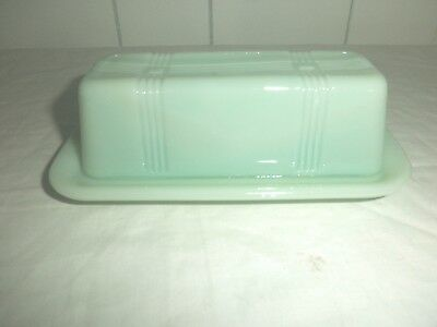 Jade Butter Dish with Lid