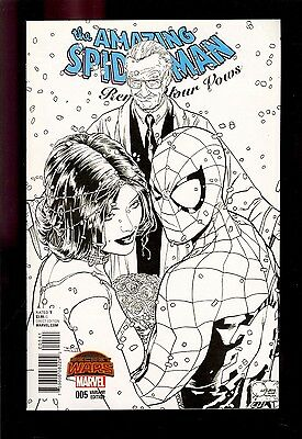 Amazing Spider-Man Renew Your Vows #5 Sketch 1:200 Variant Vf/nm  Comic Kings