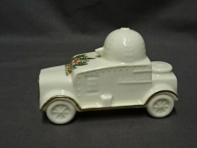 Shelley Crested China WW1 Armoured Car No.329 - City Of London Crest