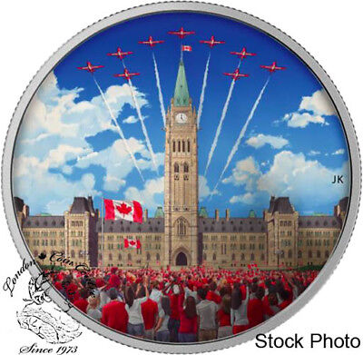Canada 2017 $30 Celebrating Canada Day Silver Coin