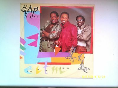 "The Gap Band Early In The Morning 12"" Single 1982 N/mint"