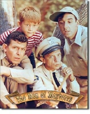 Andy Griffith: The Men of Mayberry Metal/Tin Sign (SKU 814)