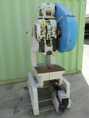 25 Ton Rousselle No 3F Deep Throat Punch Stamping Press