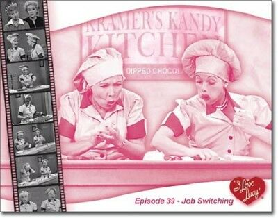 I Love Lucy: Chocolate Factory - Job Switching Metal/Tin Sign (SKU 2080)