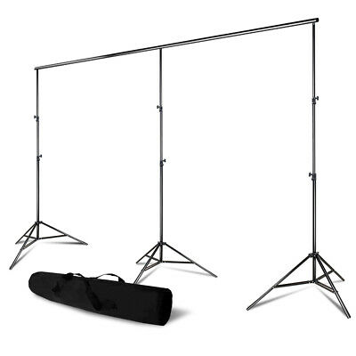 20 ft Cross Bar 8.8 ft Photography Background Muslin Support Stand Photo Studio