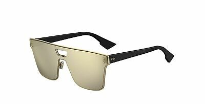 44c4cdd235 New Christian Dior DIORIZON 1 2M2 QV Gold Black Gold Silver Sunglasses
